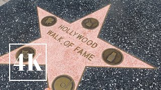 Hollywood Walk Of Fame Hollywood Andamp Highland Mall Walking Tour 📽 3d Binaural Sound 🎧