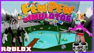 JE TUE TOUT SUR MON PASSAGE ! | Roblox Pew Pew Simulator