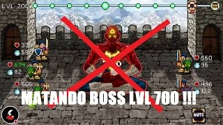 MATANDO BOSS LVL 700 !!! ~ SODA DUNGEON