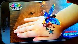 Живые татуировки! Волшебные Татуировки оживают прямо на руке! Фея, котенок, единорог Magic Tattos💜