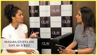 Masaba Gupta Interview On Life As A Kid