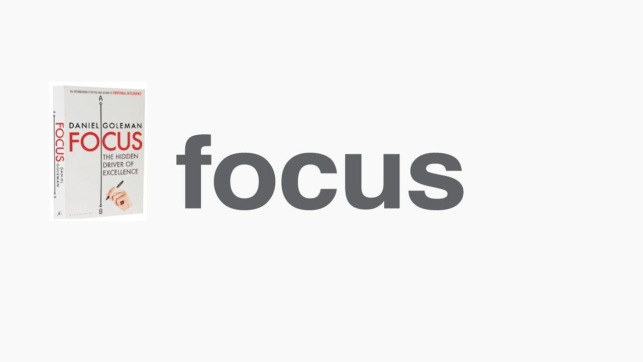 Goleman focus pdf daniel