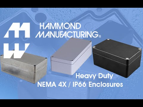 Heavy Duty Water-Tight Die-Cast Aluminum Enclosures