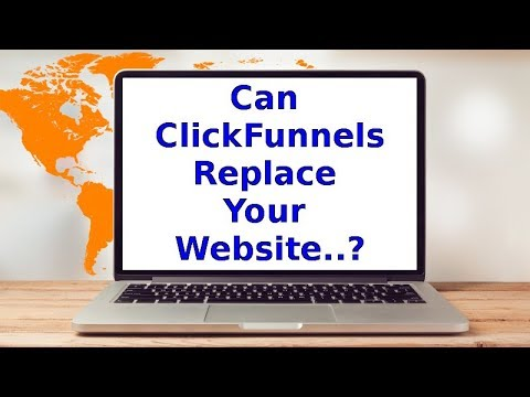 Can Clickfunnels Replace Your Website - YouTube