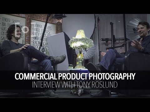 Interview with Commercial Product Photography Tony Roslund | RGG EDU