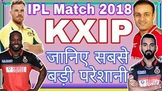 IPL Match 2018: King's XI Punjab ( KXIP) Biggest Problem In IPL 2018 |
