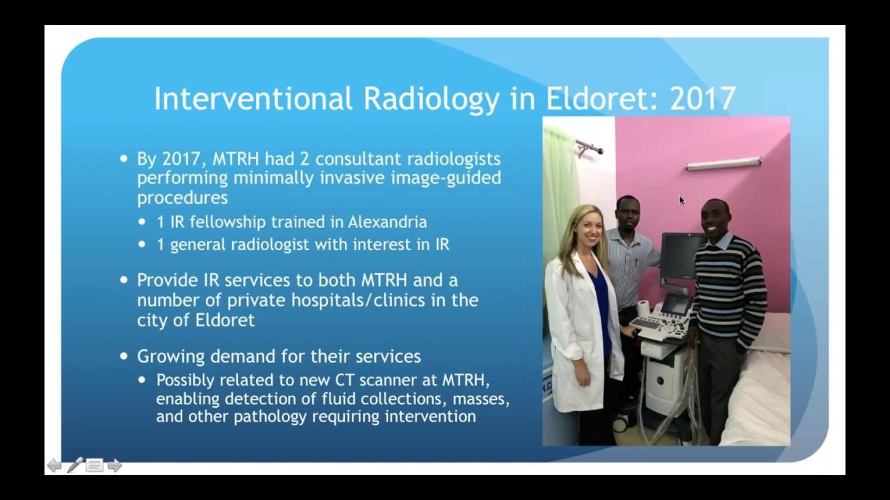 SIR-RFS Webinar (2/28/19): Interventional Radiology in Global Health #MedicalRadiology
