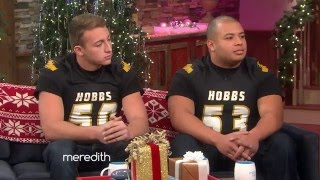 Video Two High School Football Players Tackle Bullying | The Meredith Vieira Show download MP3, 3GP, MP4, WEBM, AVI, FLV Agustus 2018