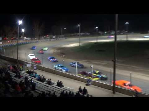 29. Flinn Stock Feature Time at Crystal Motor Speedway, 04-15-17