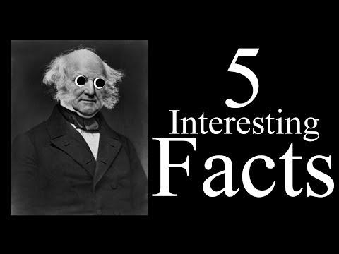 5 Interesting Facts About Martin Van Buren