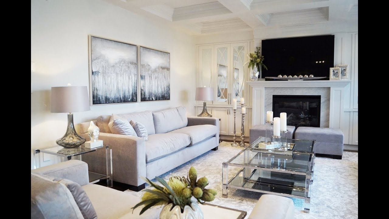 Family Room Makeover Reveal - Kimmberly Capone Interior Design - YouTube