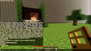 Minecraft 1.2.5 Single Player Commands Mod: See the Commands! Part 2/3