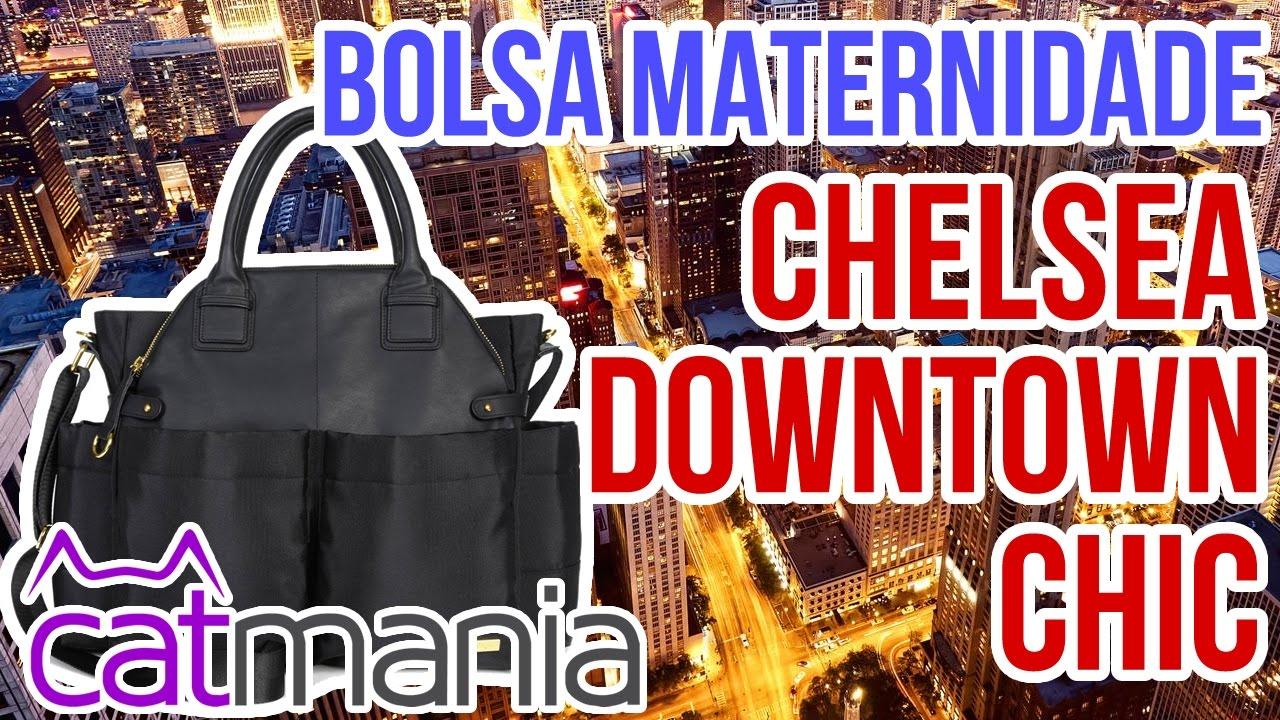 e4823a3071337 Bolsa Maternidade Chelsea Downtown Chic Skip Hop - Catmania - YouTube