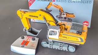 RC Excavator gets unboxed and works hard! Pre-production model!