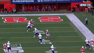 Stoll Hauls in 32-YD TD vs. Northwestern