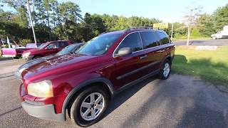 2004 VOLVO XC90 2.5 Turbo AWD ( ONLY $2750 ) 14 Years Old - For Sale Review