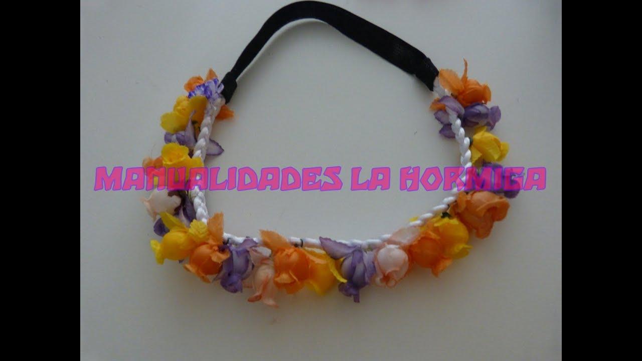 tutuorial balacas decoradas con flores con flores youtube