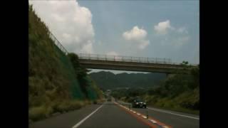 車載動画 長崎自動車道路(ながさき出島道路~東そのぎIC)