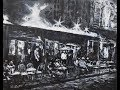 Monochrome French Cafe - Black & White Acrylics