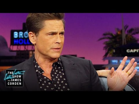 Rob Lowe Fought a Surfer In Open Water
