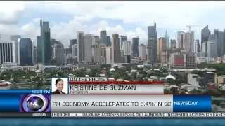 PH Economy Accelerates To 6.4% In Q2