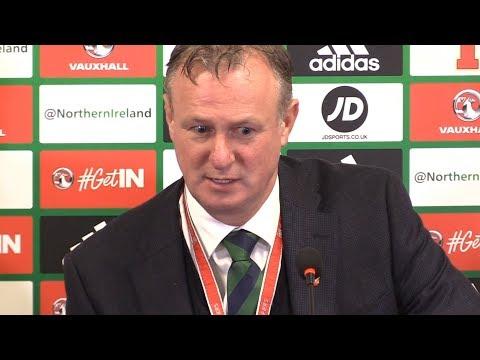 Northern Ireland 01 Switzerland  Michael O'Neill Full Post Match Press Conference