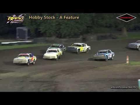 Hobby Stock Features - Rapid Speedway - 7/6/18