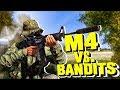 M4 Vs Bandits! - DayZ Standalone