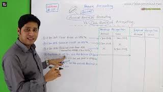 07. Basic Accounting: Accrual Basis vs Cash Basis Accounting