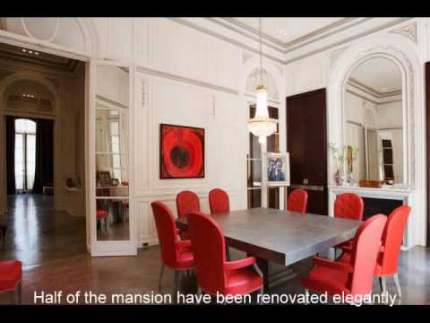 Parisian private mansion for sale !