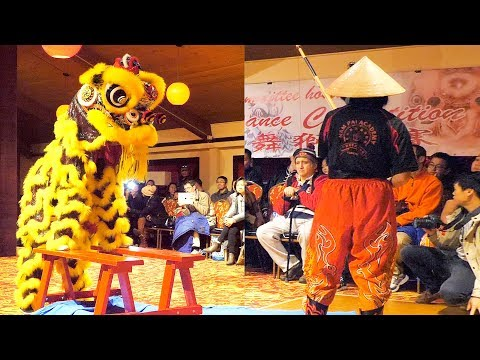 2017 Lion Dance - All Girls Performance - Boston Chinatown Main Street Competition Event Female 女舞獅