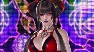 Tekken Revolution: Eliza 140k Blood Seal Costume unlock - Swimsuit and Boobs :P