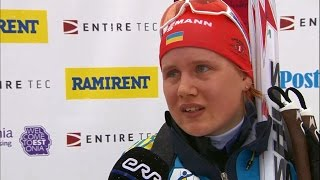 Комментарий Анастасии Меркушиной после второго подряд золота на чемпионате Европы в Отепяя