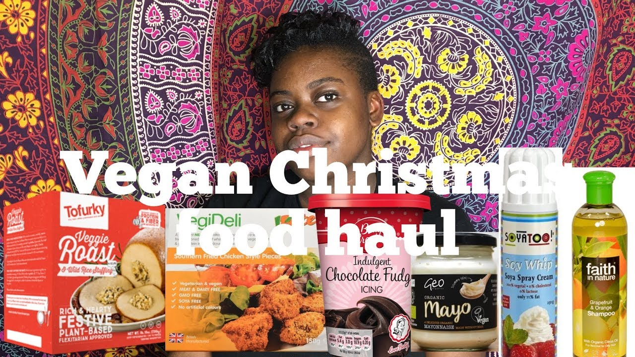 Vegan Christmas Food Haul