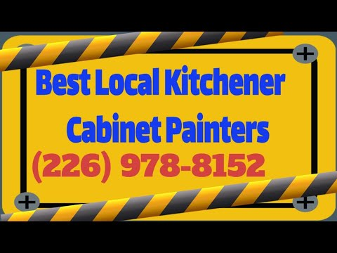 Painting Kitchen Cabinets In Kitchener Waterloo Cabinet Painters