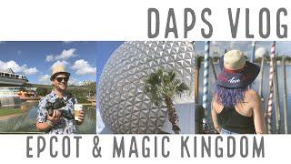 DAPs VLOG - Walt Disney World Day 2 - Epcot and Magic Kingdom
