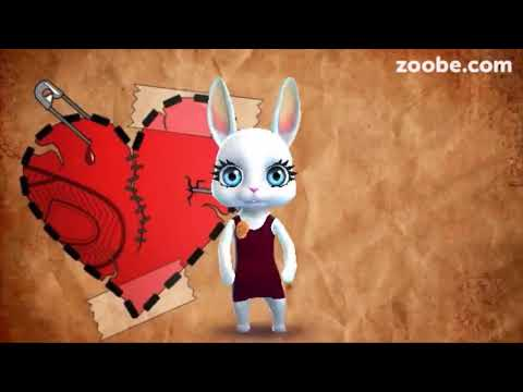 Zoobe Зайка Мое сердце магнит