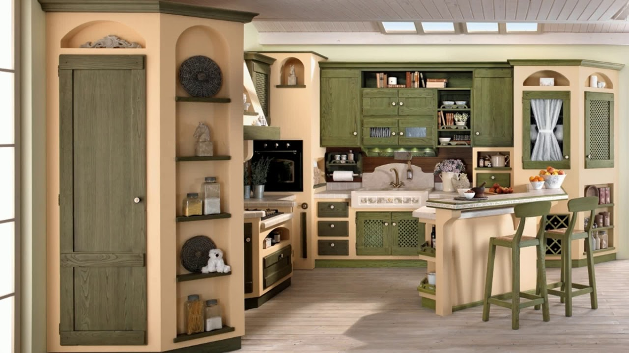 meuble cuisine avec table integree