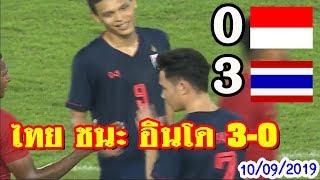 ไทย 3-0 อินโดนิเซีย ศึกฟุตบอลโลกรอบคัดเลือก2022 รอบที่2