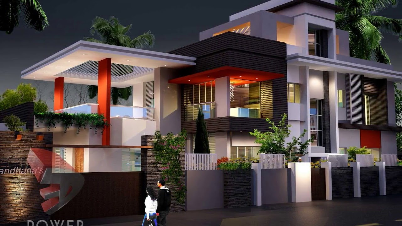 Ultra Modern House Plans And Designs In India