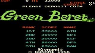 Green Beret  1985 Konami Mame Retro Arcade Games