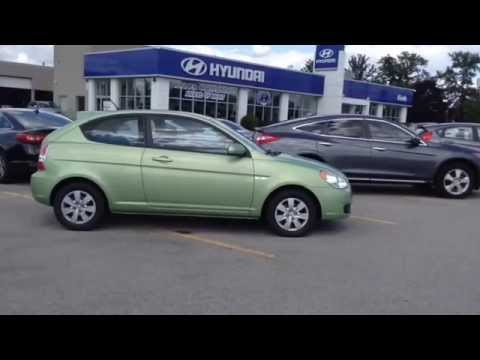 Exceptional 2010 Hyundai Accent GL Hatchback 5 Speed Manual