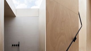 Plywood Design In A Modern House