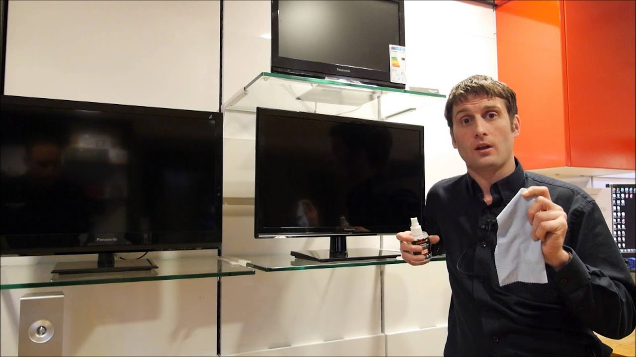 How To Clean A Plasma/LED/LCD Screen   YouTube