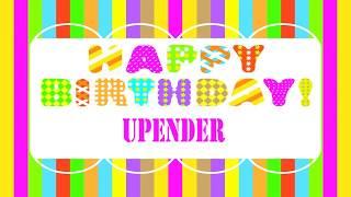 Upender Birthday Wishes & Mensajes