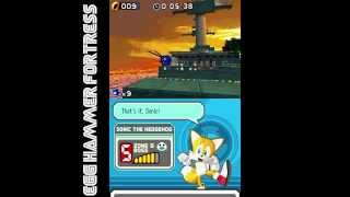 Sonic Rush (DS) - Boss Run