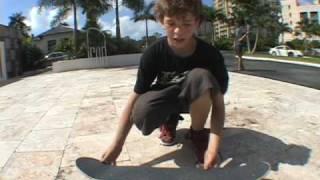 trick tip kickflip (very old)