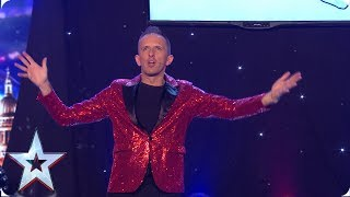 Gaz the DJ Man gets the party started! | Auditions | BGMT 2019