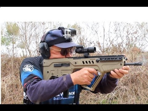 IWI Tavor 9mm- 32 rounds in 4 seconds