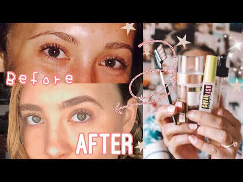 How I grew out my eyebrows |story time, tips & advice